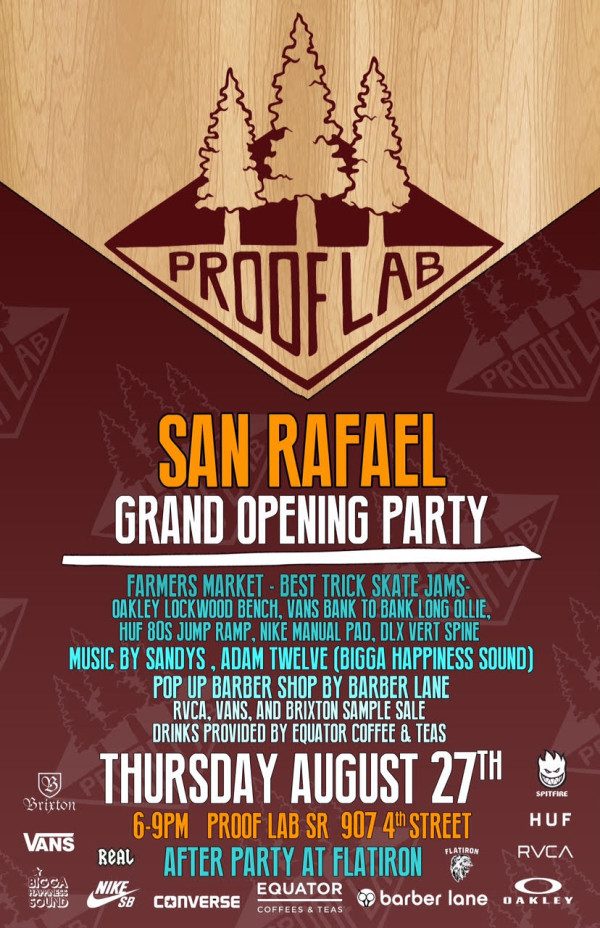 Proof Lab SR Grand Opening