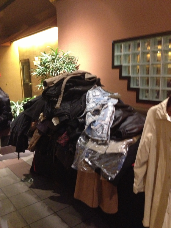 Aslan's Wardrobe donations at Family Harvest Church