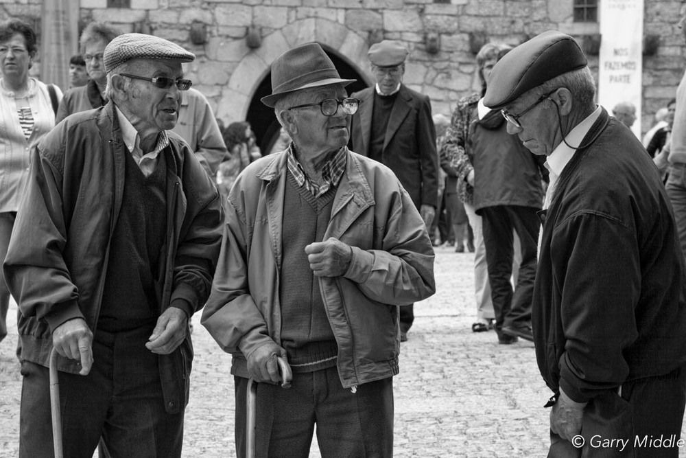 Image of: Black Old People Guimarães Castle Portugal 2jpg Garry Middle Photography Street Garry Middle Photography