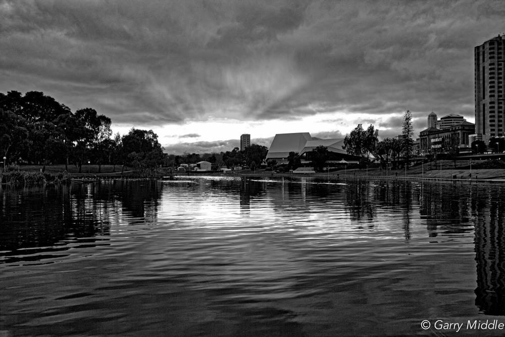 Adelaide sunrise B&W.jpg