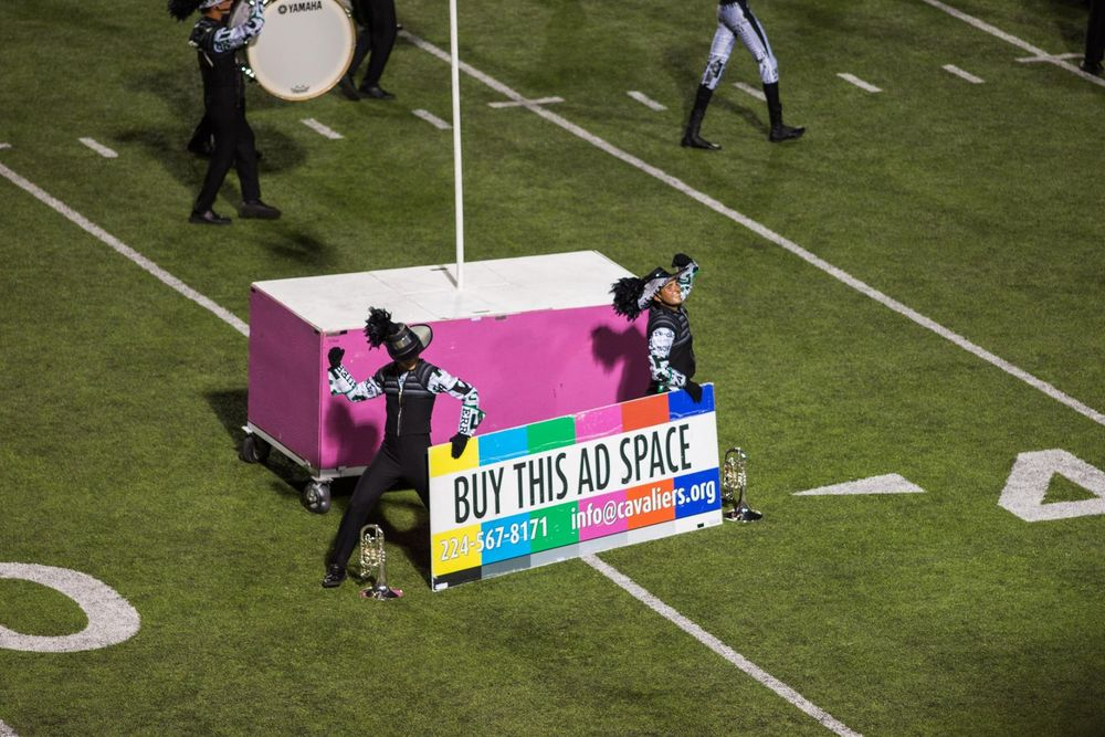 Cavaliers Ad Space