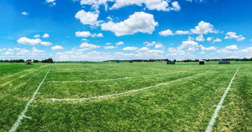 An immaculate field, courtesy of  @MyColorfulSocks