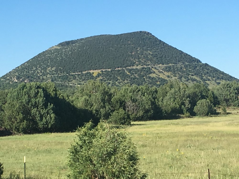 Capulin Volcano National Monument – New Mexico.   Photograph by author.