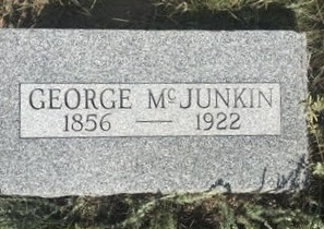 The grave of George McJunkin, Folsom, New Mexico Cemetery    Photograph by Author