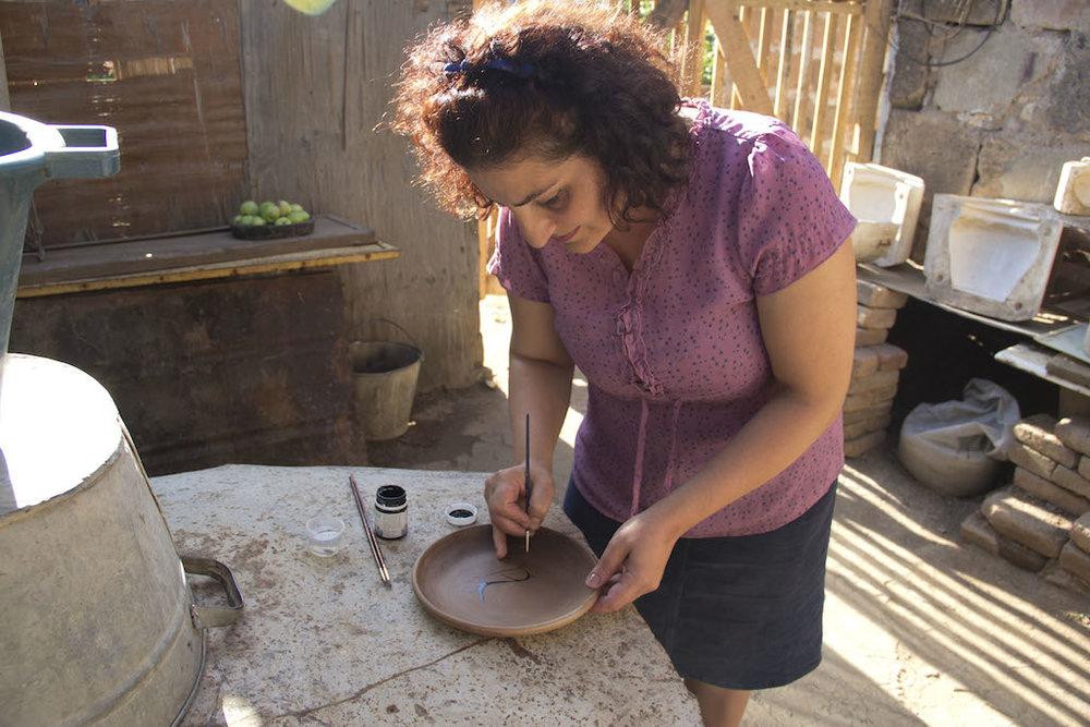 WithLove Armenia Ceramic Plate 28.JPG