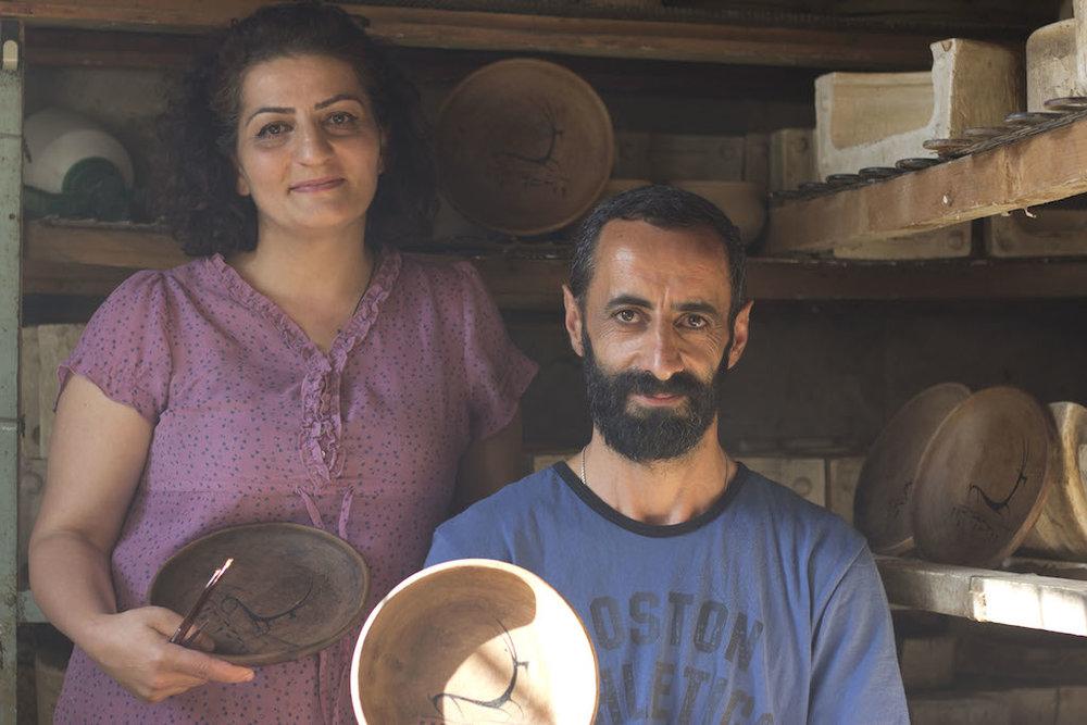 WithLove Armenia Ceramic Plate 3.JPG