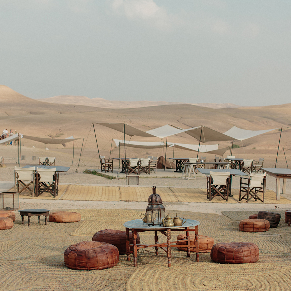 SCARABO CAMP \ MARRAKECH \ MOROCCO