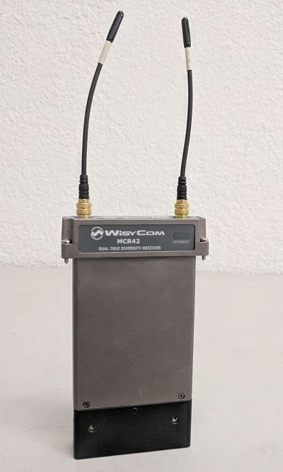 MCR42 DUAL TRUE DIVERSITY UHF MINI CAMERA RECEIVER