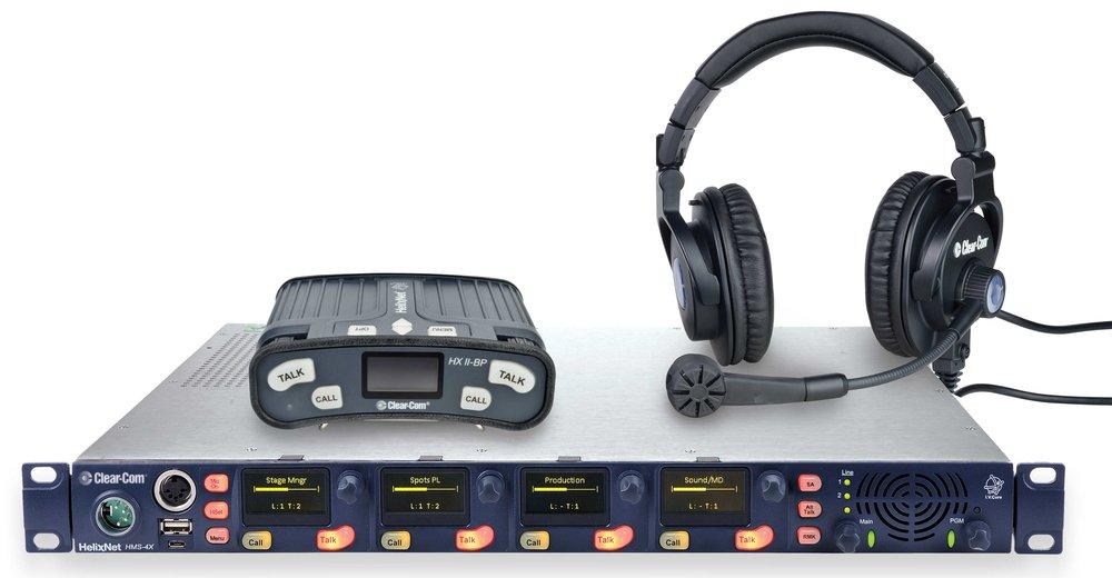 HelixNet Digital Network Partyline System -
