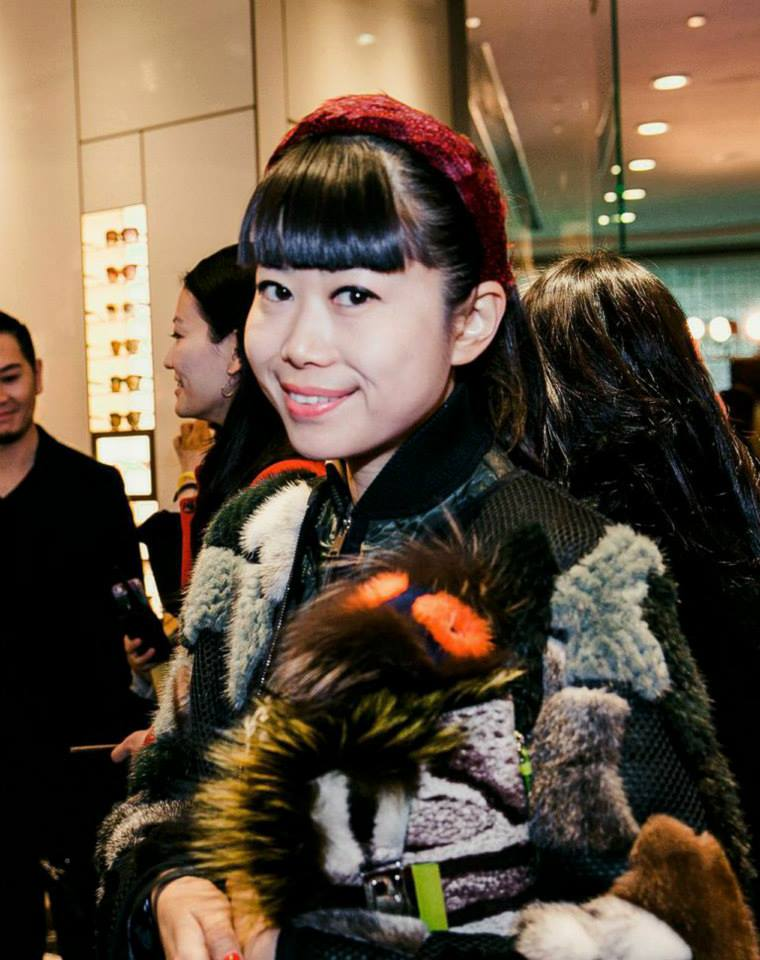 Socialite Leaf Greener and previous Fashion Editor of ELLE China