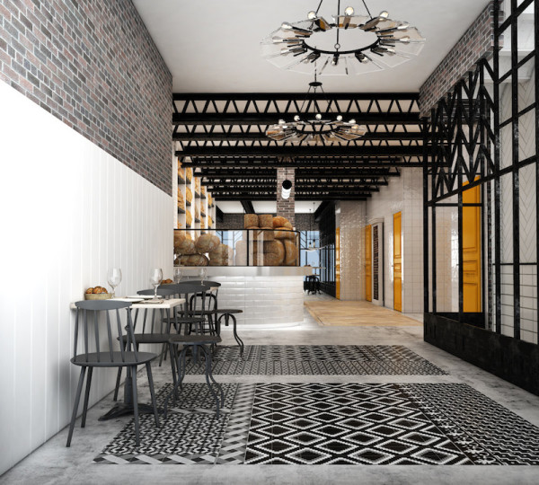 Hotel Praktik Bakery Lobby