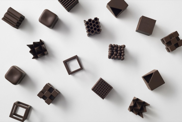 CHOCOLATEXTURE BY NENDO M&O