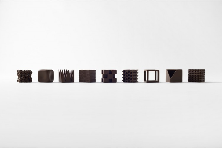 CHOCOLATEXTURE BY NENDO Thats it Mag
