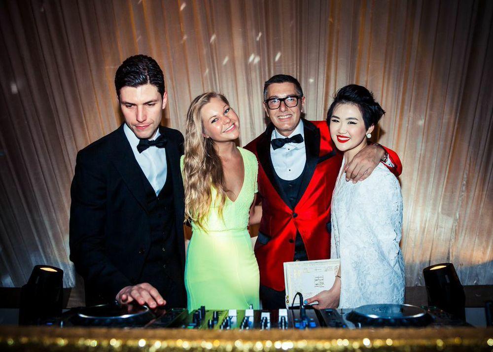 That´s it Fashion Editor Camilla Gleditsch,Stefano Gabbana & Blogger Color-blocker Tracy Wang