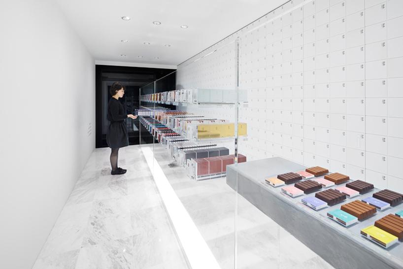 Nendo Designs BbyB's  Chocolate Shop