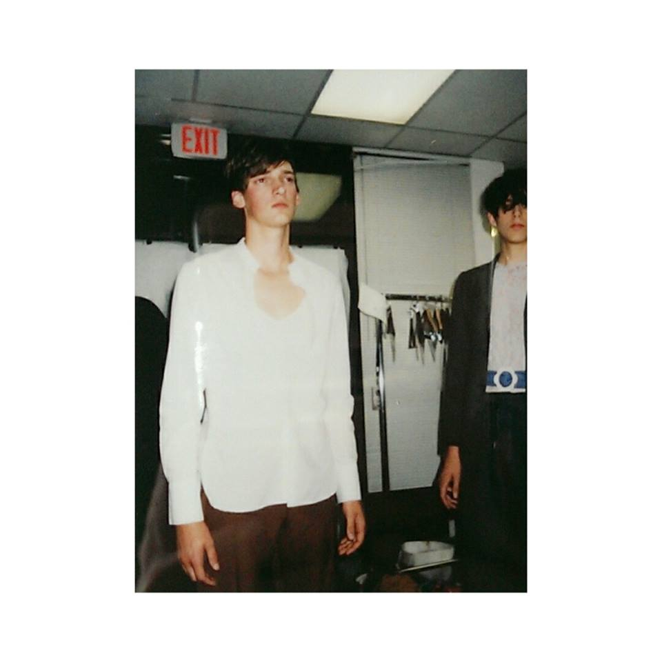 Backstage at Vancouver Fashion Week