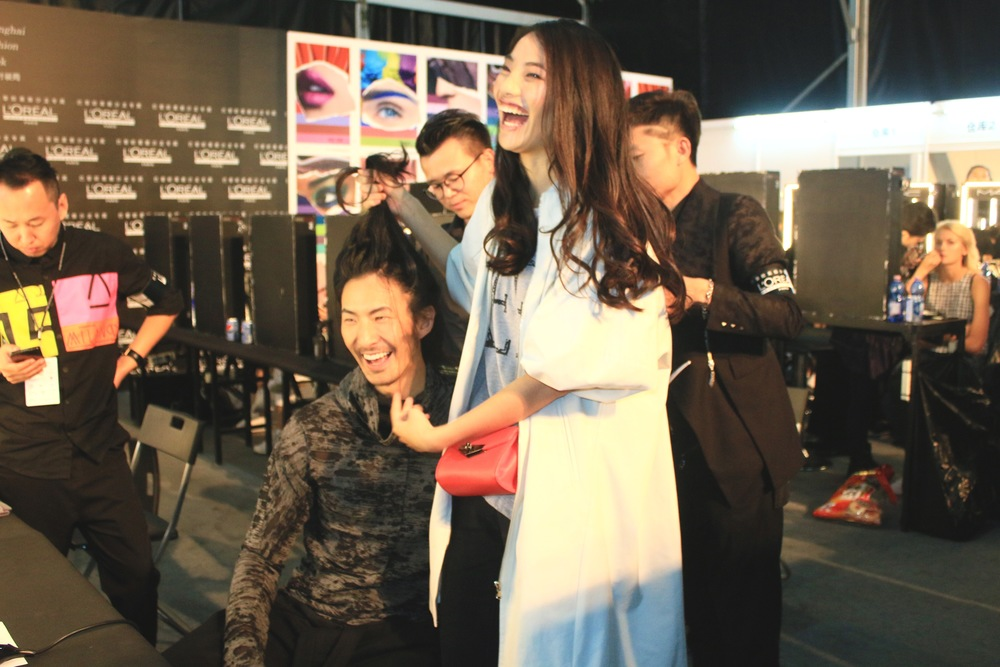 Behind the scene of Shanghai Fashion Week