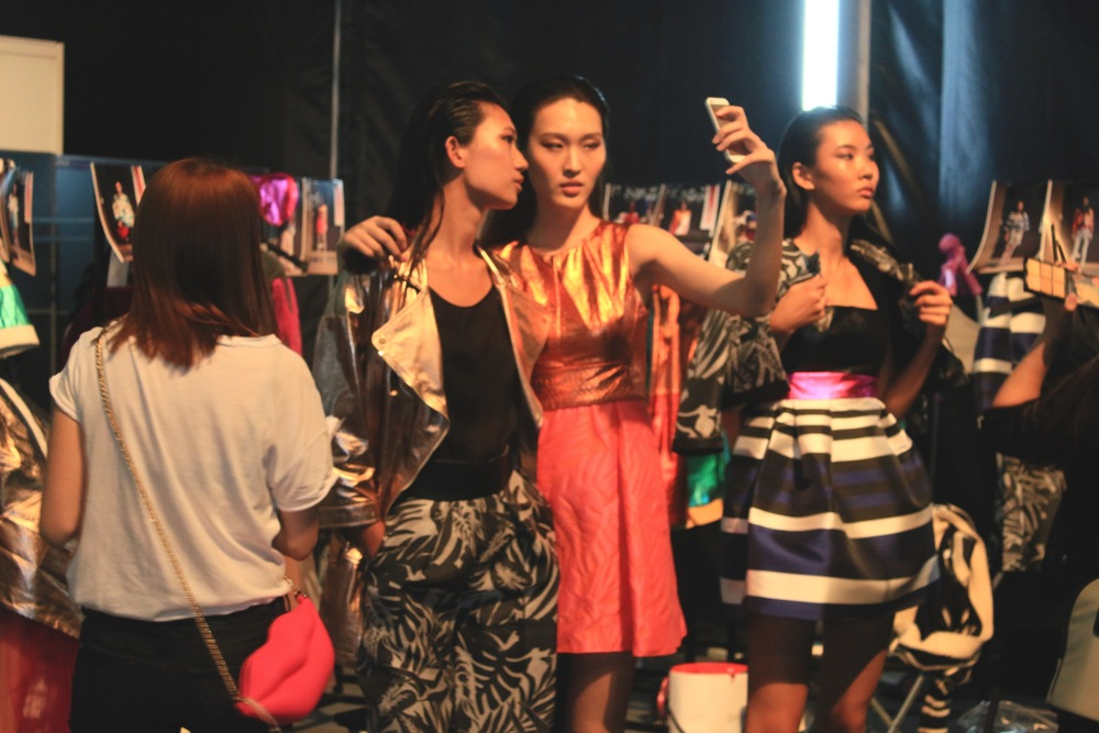 Behind the scene of Shanghai Fashion Week