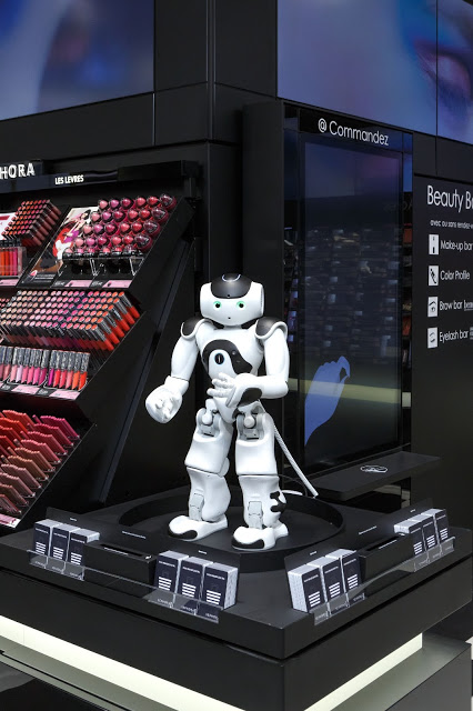 Sephora Flash connected store