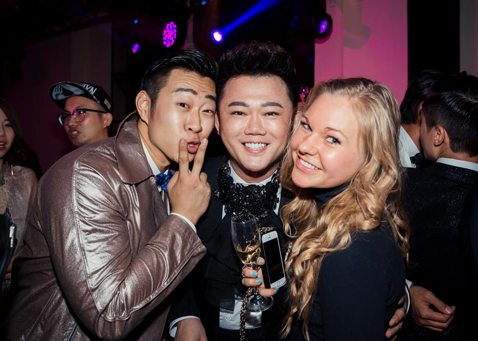 With Celebrity stylist Tony Li and our Fashion Editor Camilla Gleditsch