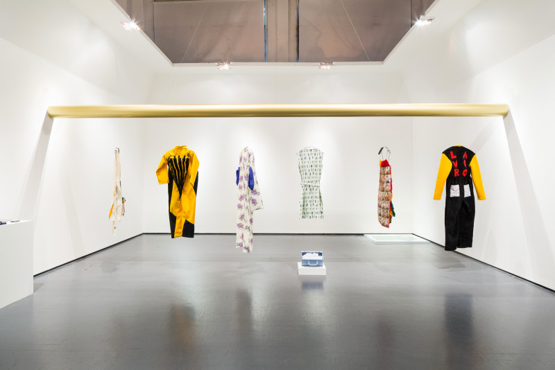 Workwear exhibition set design Triennale di Milano