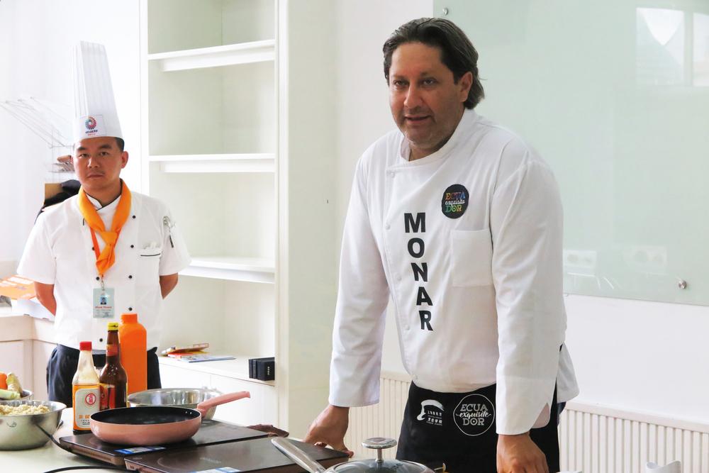 Xavier Monar, owner of Restaurant Paralelo Cero