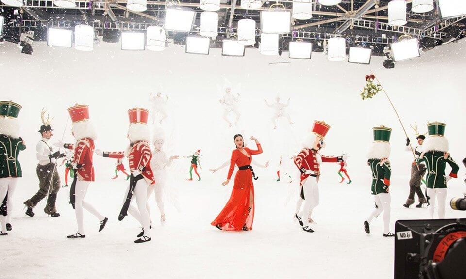 Katy Perry stars in H&M Holiday campaign
