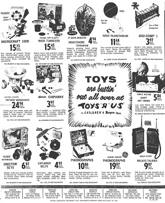 """1971 Toys""""R""""Us Poster"""