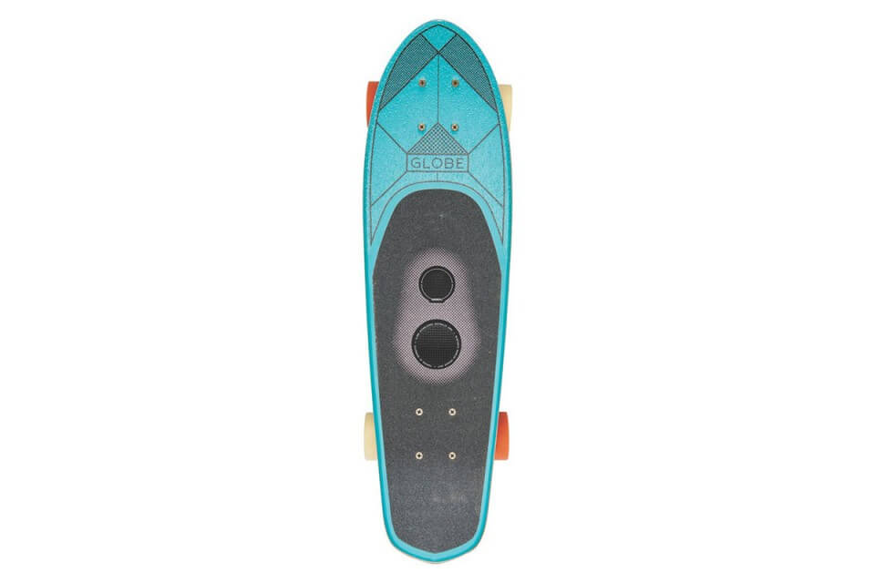 First Skateboard With A Built-In Speaker