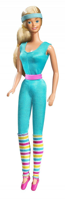 Barbie aérobics instructor,1984