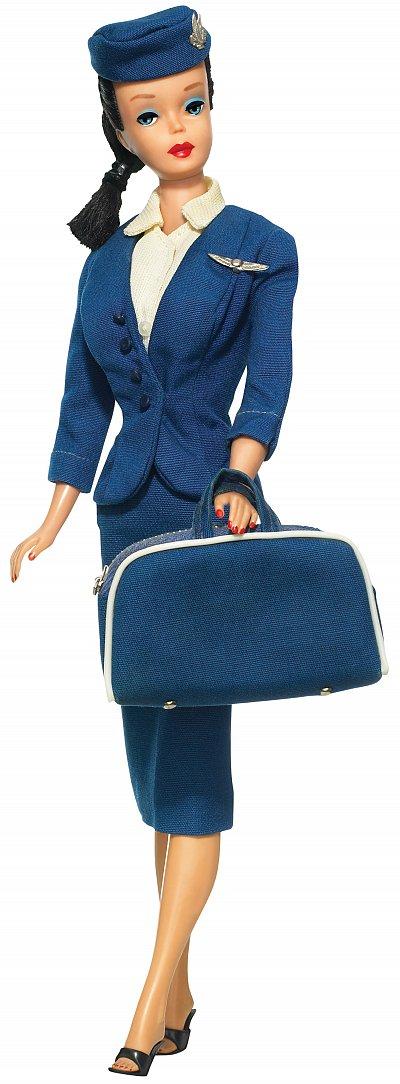Barbie flight attendant, 1961