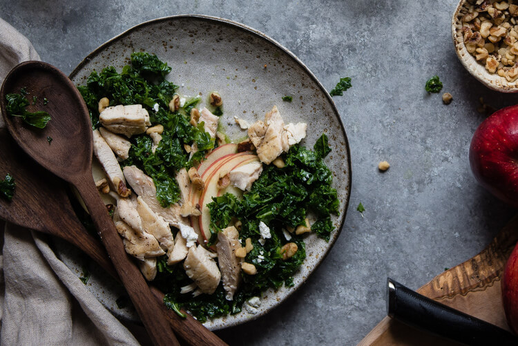 Chicken & apple salad-thatsitmag-1