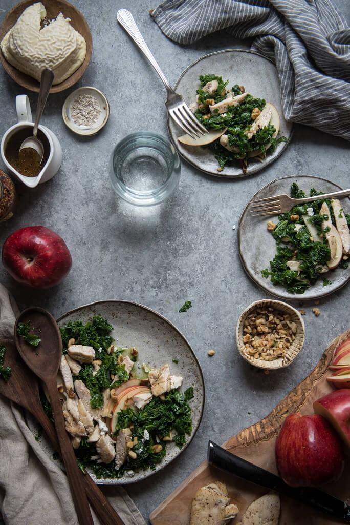 Chicken & apple salad-thatsitmag-3