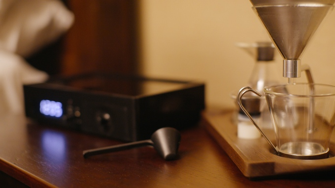 Designer Coffee & Tea Alarm Clock - All in one -thatsitmag