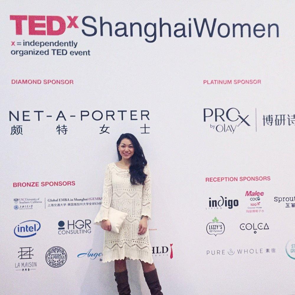Fashion blogger Aya Aspan