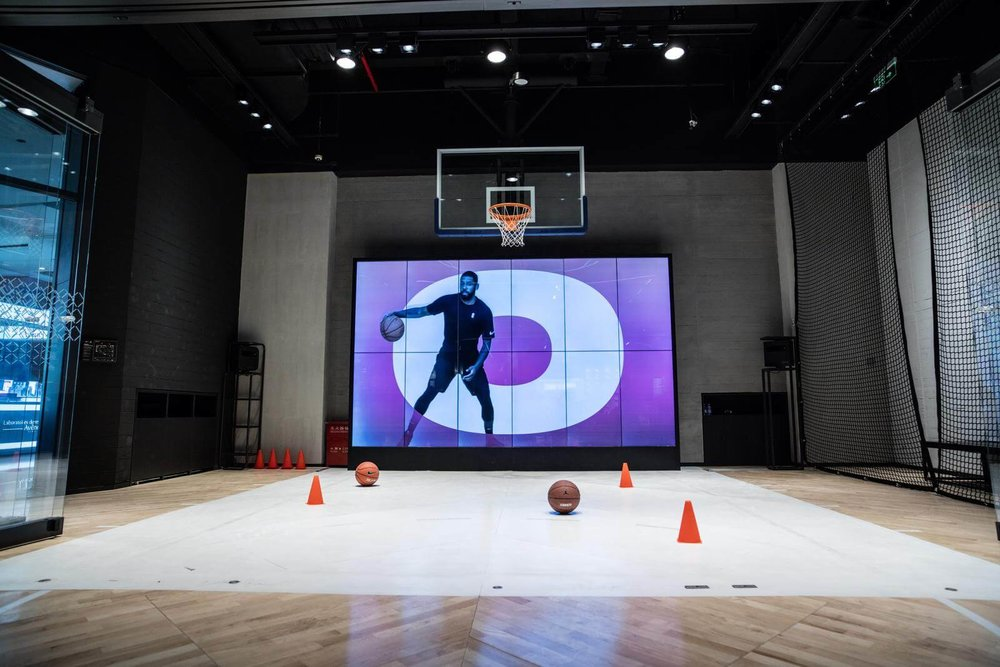 Nike unveils its largest basketball experience store in Beijing-Fiona Jin-That's it Magagine-trial zone 2.jpg