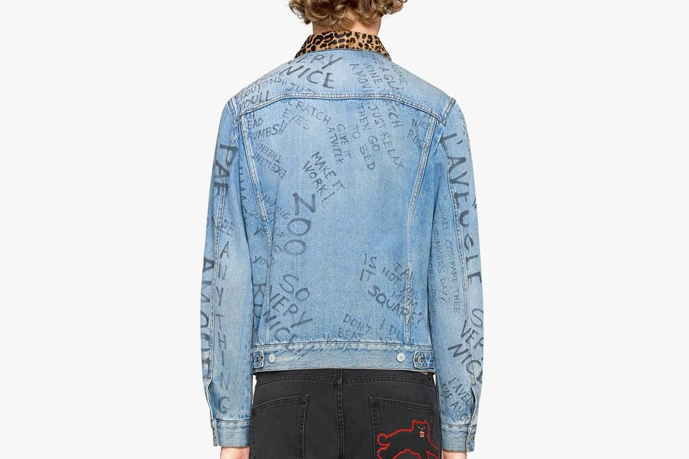 Gucci releases an updated version of the denim jacket -Fiona Jin-That's it mag-back.jpg