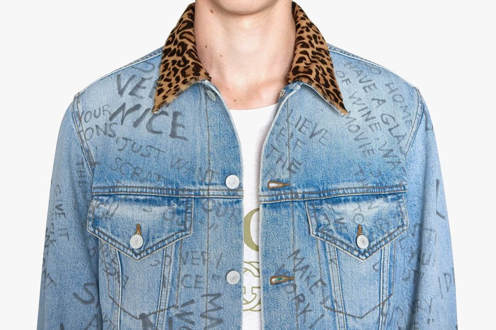 Gucci releases an updated version of the denim jacket -Fiona Jin-That's it mag-collar.jpg