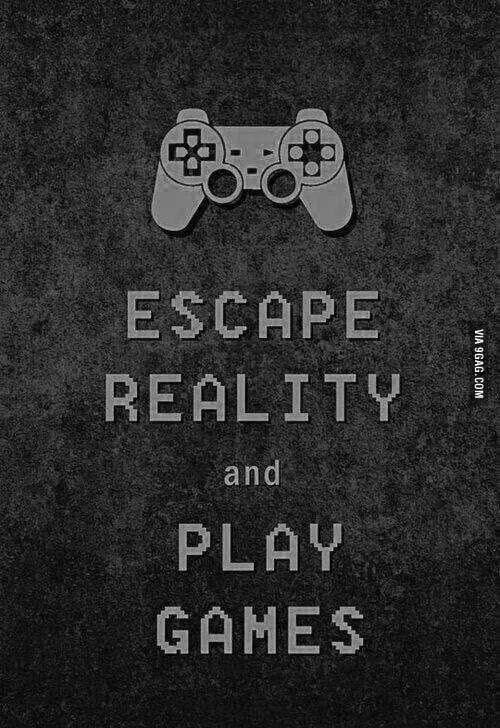 Escapism- Ellie Franklin- That's it mag- addicted- facial recognition- video games