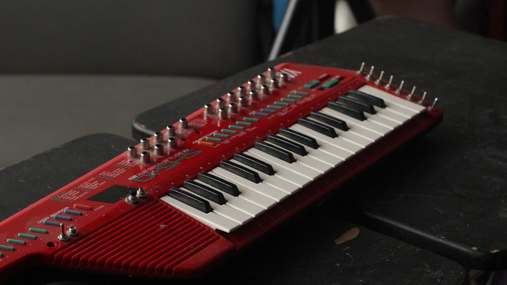 Circuit Bent SHS-10 Keytar