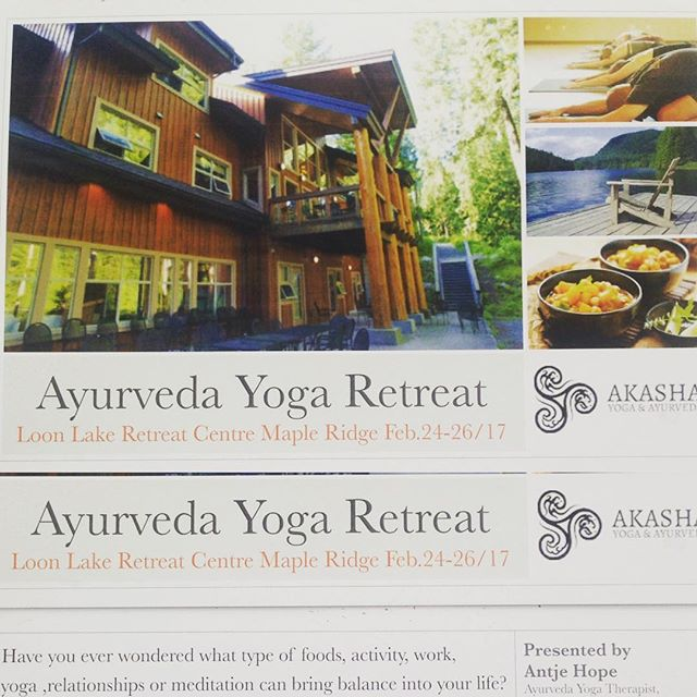 Last week to register for a weekend in pure nature, Forrest, mountains and lake. We have 4 more day spots and only 2 more rooms left. Join me for Ayurveda and Yoga Feb 24-26 2017 click here to register or for more info http://www.akashaayurveda.com/retreats/ #ayurveda #yogaretreat #nature #healyourself
