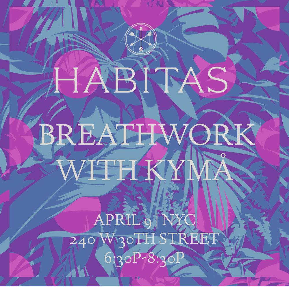 Habitas Breathwork with KYMÅ (KYMA)