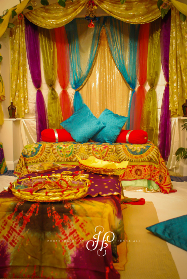 Amazing Mehndi Party Ideas : Ideas and inspiration mehndi decor — henna ali