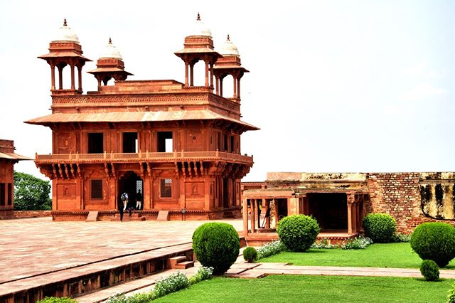 Fatehpur Sikri has some of the coolest architecture in India. It's long been abandoned by the Mughals who built it, but it still holds some of the mystery of the past #india #mughal #fatehpursikri #exoticadventures #adventuretravel #travel #historicalsites #history
