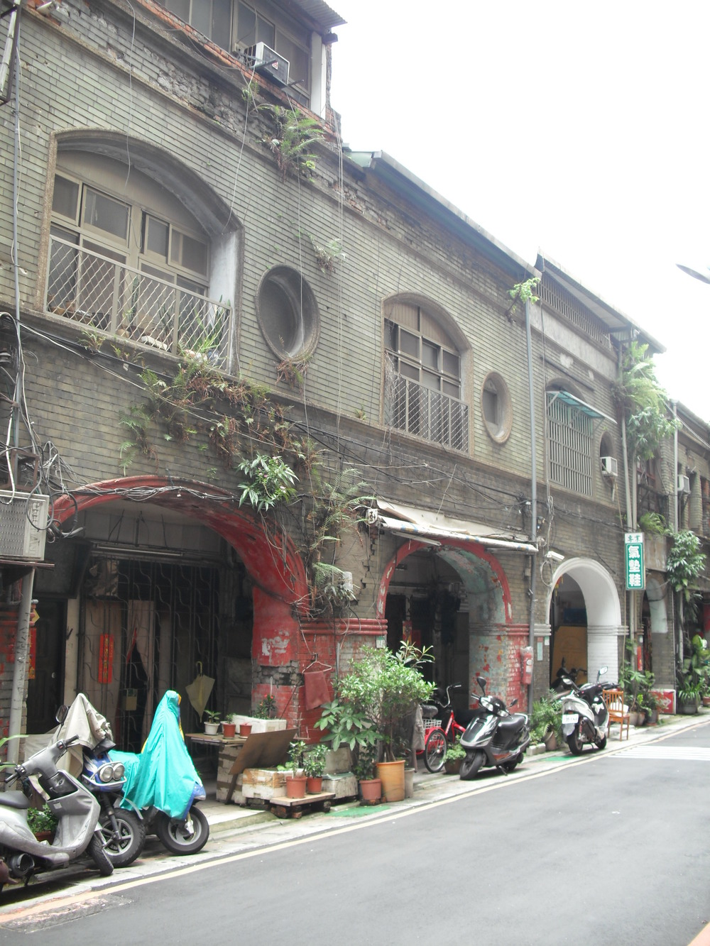 Old structures on Guisui Street