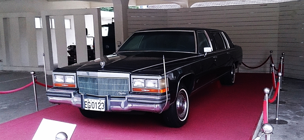 A Chaing mobile. Cadillac 1988.
