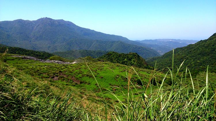 On the edge of Qingtiangang