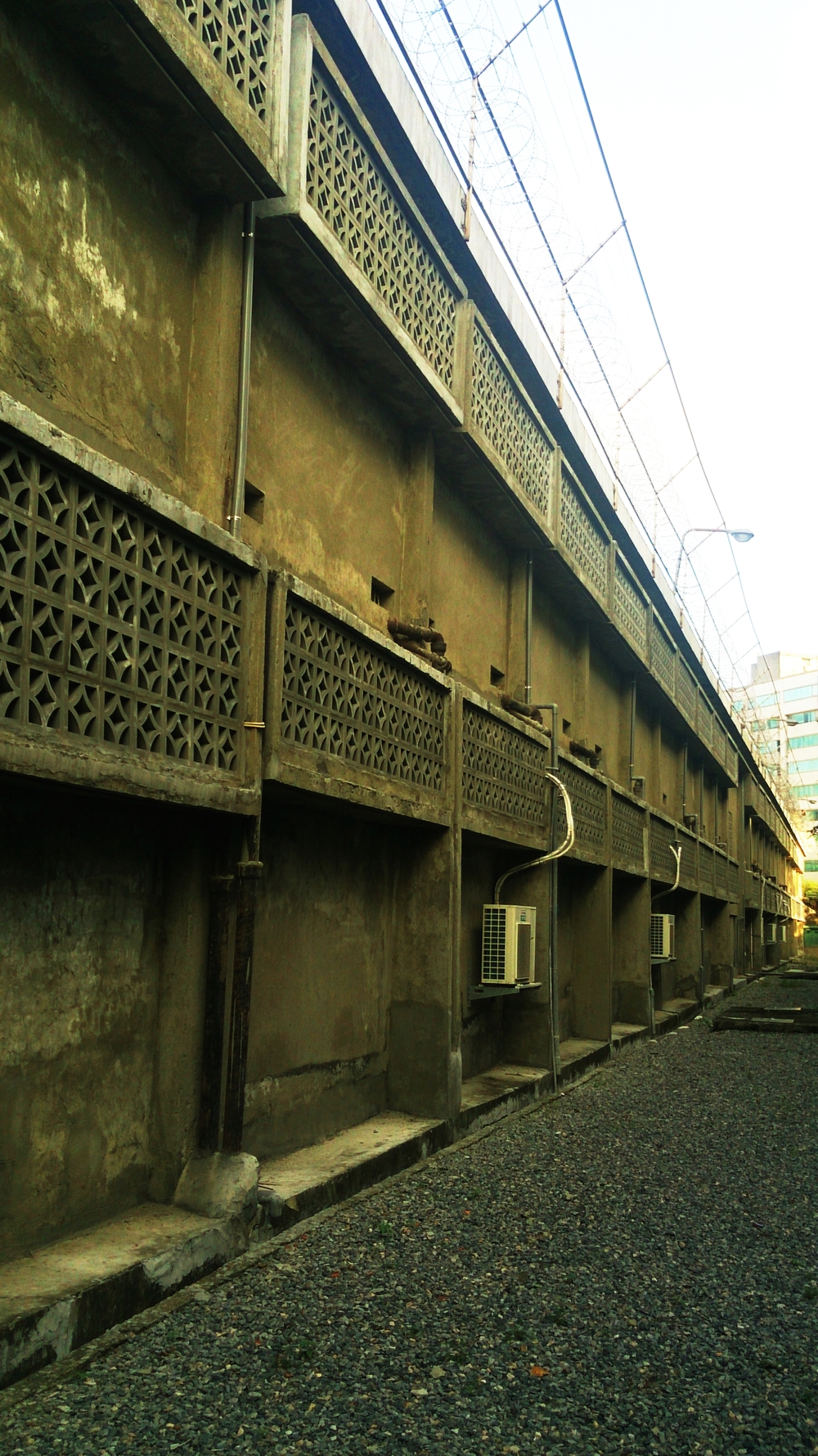 Exterior of the Ren'ai Block.