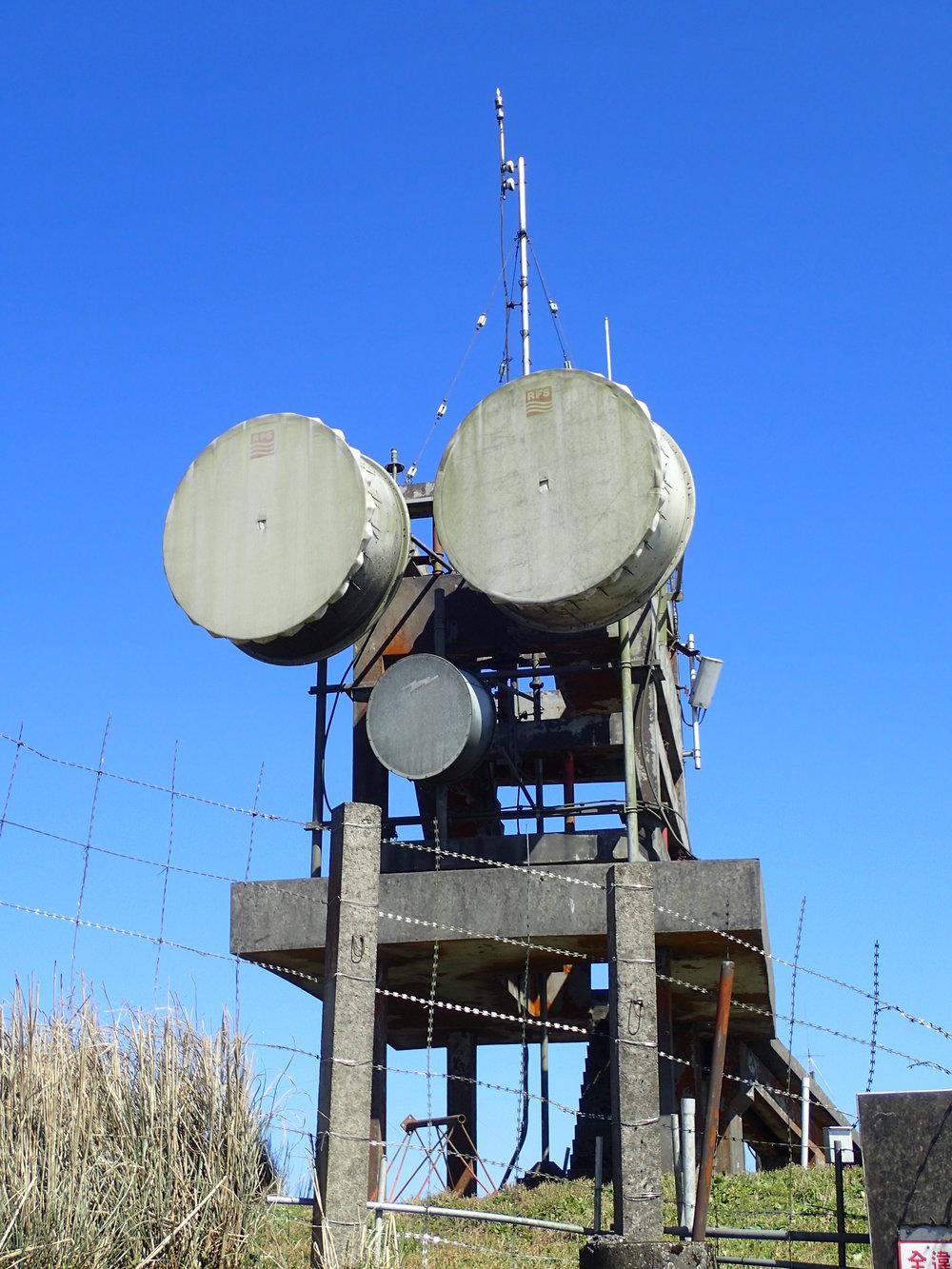 Radar on Mt Datun