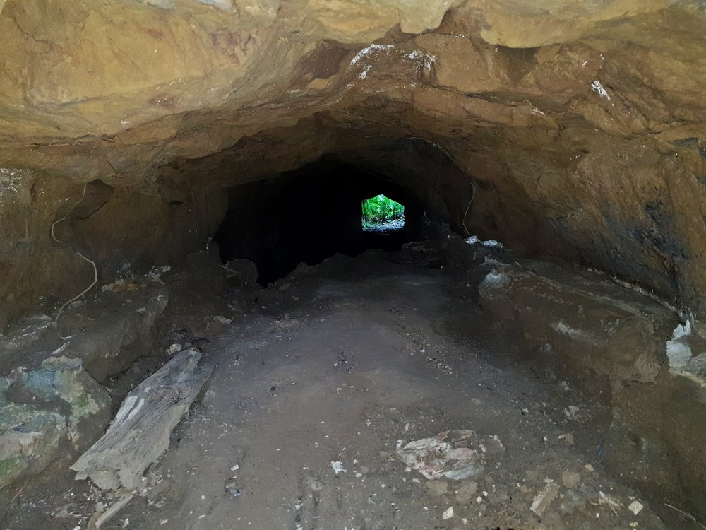The drainage tunnel